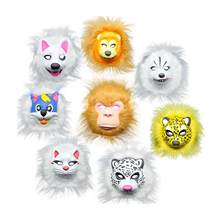 1PC Mask Lovely EVA Cute Colorful Unique Animal Masks for Kids Children Party Cosplay Carnival(China)
