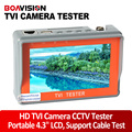 4.3 Дюймов LCD 720 P/1080 P TVI Тест Аналоговых CCTV Тестер CCD Камера Тест Монитор Браслет Тестер Камеры безопасности Тестер
