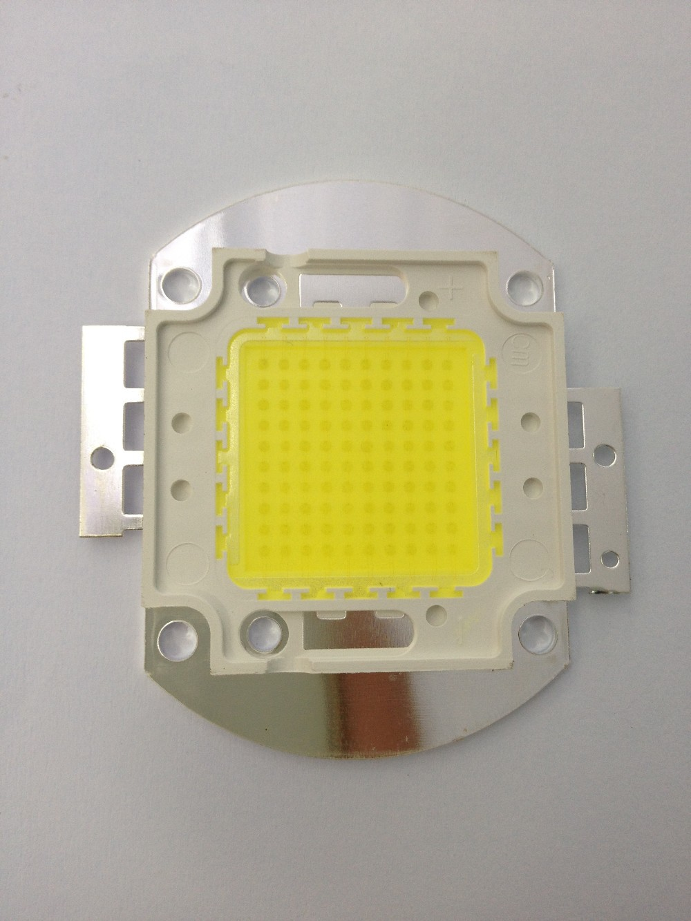 100W led light source module Epistar 33*33mil 10P10S 110-120LM high power led floodlight bulb tube input DC30-36V 3000ma