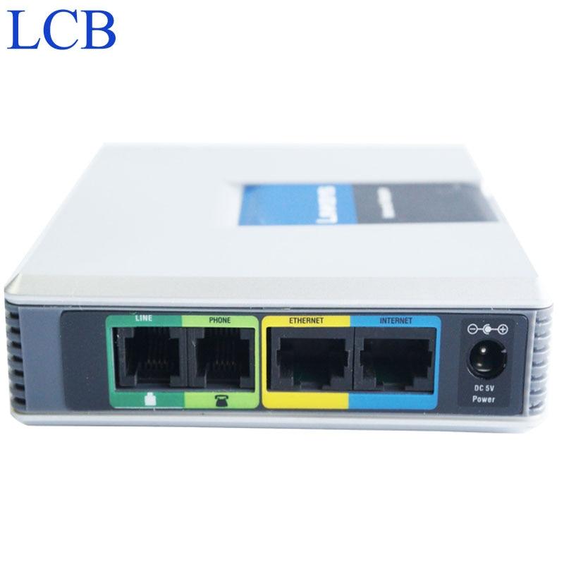 Débloqué Linksys SIP IP système vocal SPA3102 VoIP FAX adaptateur téléphone routeur serveur téléphonique Telefone Telefon système livraison gratuite
