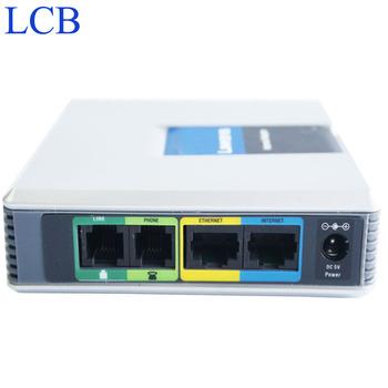 Odblokowany Linksys SIP IP System głosowy SPA3102 VoIP FAX przejściówka do telefonu Router serwer telefoniczny Telefon System telefoniczny bezpłatny statek tanie i dobre opinie BARTUN EU AU US UK