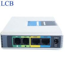 Unlocked Linksys رشفة IP نظام صوت SPA3102 عبر الفاكس محول الهاتف راوتر الهاتف الخادم Telefone Telefon نظام السفينة حرة