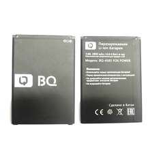 BQ-4583 2800mAh Battery For BQ BQS 4583 Fox Power Mobile Phone In Stock Latest Production High Quality Battery+Tracking Number
