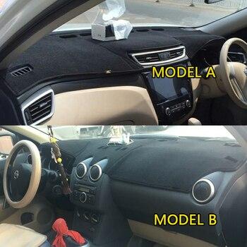 Стайлинг автомобиля охватывает Dashmat Dash коврик приборной панели Крышка для Nissan Dualis qashqai rogue J10 J11 2006 2007 2008 2010 2012 2013 2014