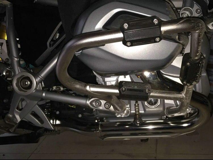 Modifié adapte BMW R1200GS LC adv F700GS F800GS moteur Protection Pare-chocs Décoratif Bloc Démantèlement D'installation 25mm Diamètre