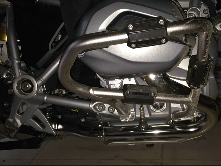Modified Fits BMW R1200GS LC Adv F700GS F800GS Engine Protection Bumper Decorative Block Dismantling Installation 25mm