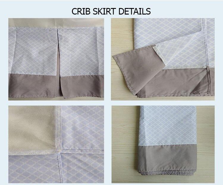 8CRIB SKIRT details