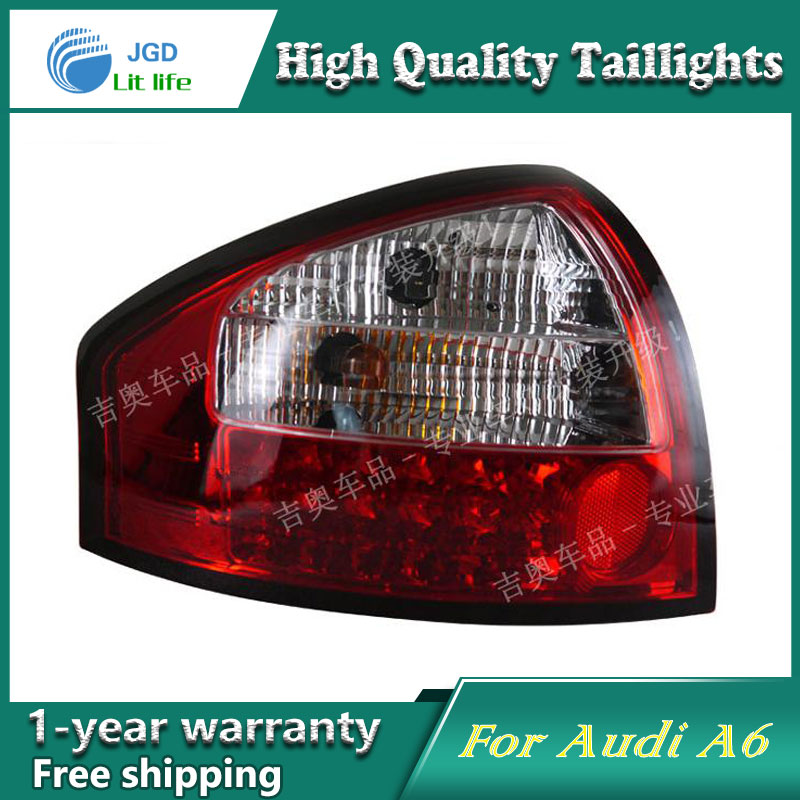 Car Styling Tail Lamp for Audi A6 taillights Tail Lights LED Rear Lamp LED DRL+Brake+Park+Signal Stop Lamp купить в Москве 2019