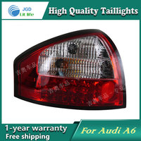 Car Styling Tail Lamp For Audi A6 Taillights Tail Lights LED Rear Lamp LED DRL Brake