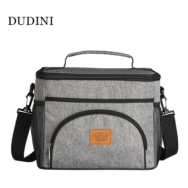 DUDINI Multifunction Practical Lunch Bags Portable Oxford Cloth Insulation Bags Large Capacity Picnic Bag Carry Lunch Bags Women