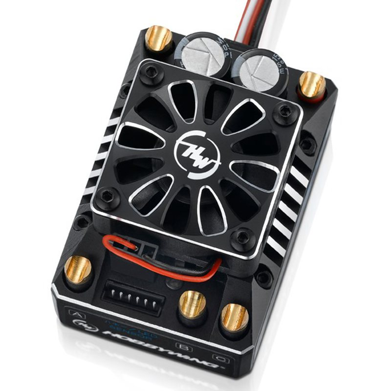 FATJAY Hobbywing XeRun XR8 SCT 30113301 140A 2-4 s sans balais ESC pour 1/8 1/10 voitures de course RC