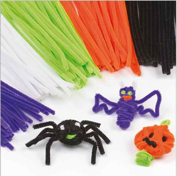 50 יח'\סט Chenille גבעולים מקלות צבעוניים ילדים גן ילדים צעצוע DIY Handcraft חומר Creative ילדים סיטונאי צעצועים חינוכיים