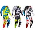 2017 Nuevo Diseño de 180 HC Combo Traje de Carreras MTB DH MX Motocross Off-Road de Carreras de Jersey + Pantalones de Motocicleta Dirt Bike Riding Gear