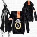 NEW Anime Hoodie Outerwear Coat One Piece Trafalgar Law Black Jacket Sweatshirt