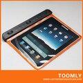 Бесплатная Доставка WP-120 Водонепроницаемая Сумка для Планшетных ПК 7.0-7.7 дюймов Глубиной 10 М IPX8 Цвет Оранжевый