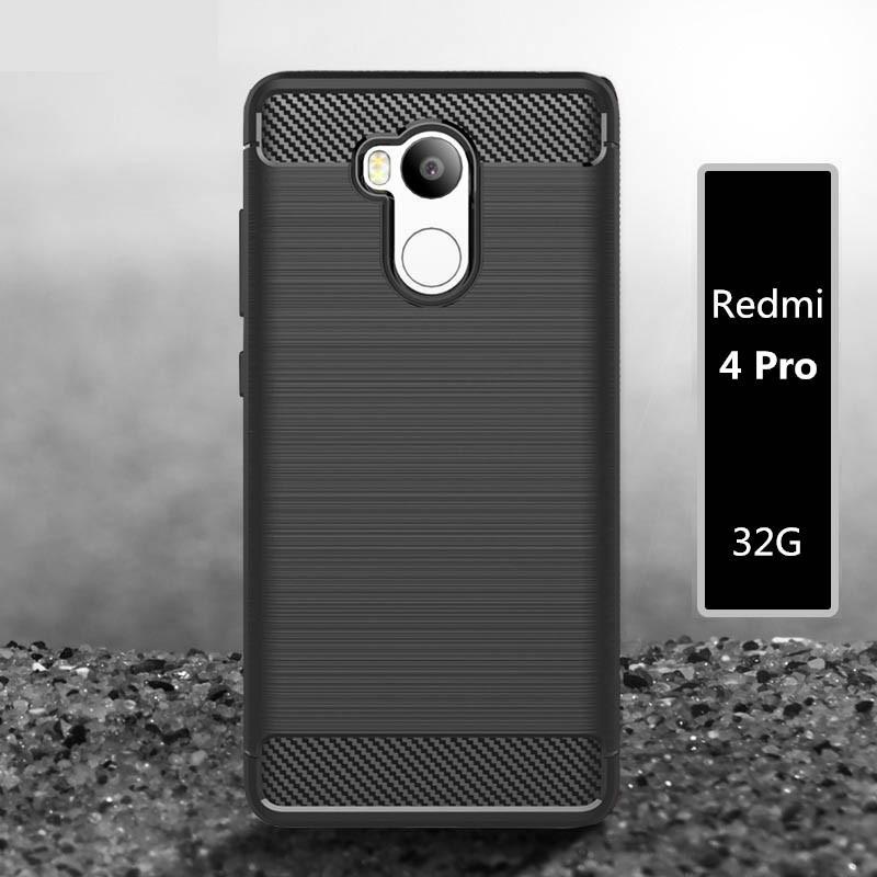 For Redmi 4 pro cover case for Xiaomi Redmi 4 pro case For Xiaomi redmi 4 case original soft back case capa coque funda silicone