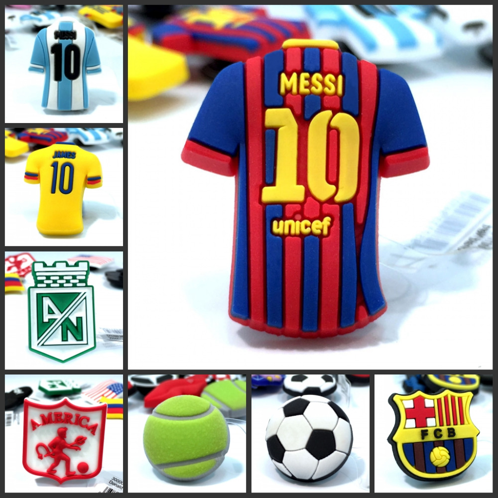 10pcs Mixed Styles High Quality Sports Football Shoe Charms Accessories Party Home Decoretion Kids Children Gift Fashion