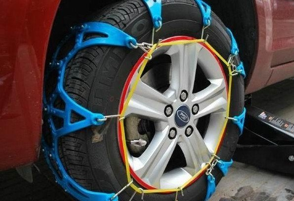 Freeshipping Snow Chains For Universal Car Tire Snow Chain Skidproof