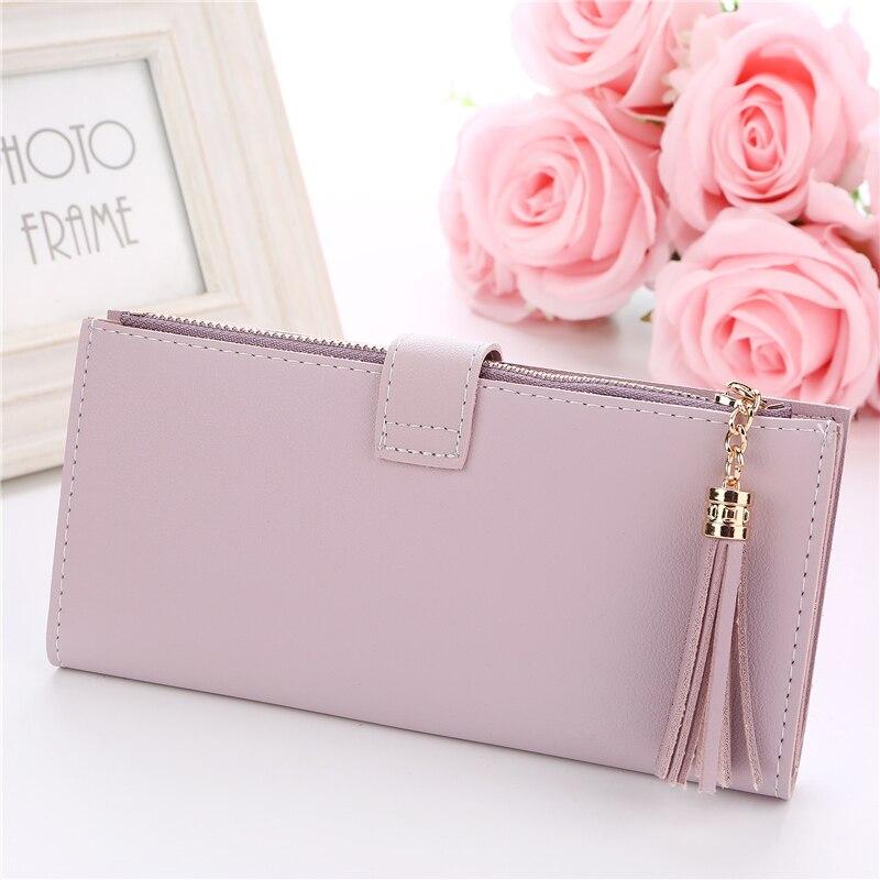 Fashion wallets women famous desinger women's wallets fancy female purses card rfid holder travel Ladies cheque wallets Clutches 3