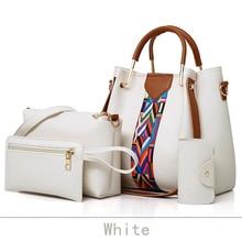 High Capacity White Messenger Bag Ladies Hand Bags
