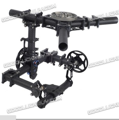 Tarot TL100AAA 3 axes support de caméra cardan avec servos, DSLR 5D 5D2 marque aérienne photo - 3