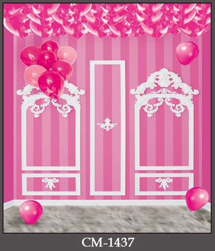 10ft vinyl cloth print pink girl's party wall photography backdrops for portrait photo studio photographic backgrounds CM-1437 10ft photography backdrops vinyl cloth print study room photo studio backgrounds for photographic props cm 4817