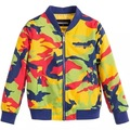New 2016 Boys baby jacket Camouflage baseball uniform coat wholesale