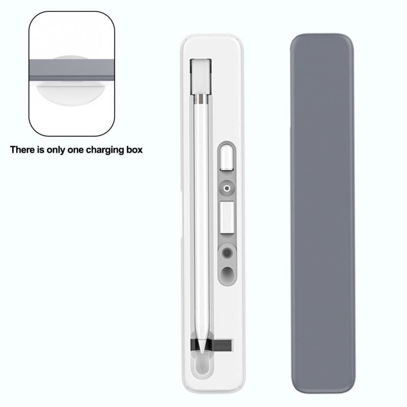 Storage Box Pencil Box For Apple Pencil Wireless Charging Box Receiving Box For IPad Stylus Charger Case Carrying Case