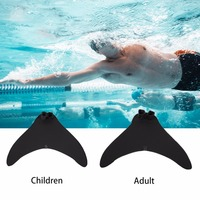 Swimming Training Children Adult Type Swimming Fins Mermaid Swimming Foot Flipper Training Shoes Diving Feet Monofin