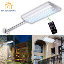 LED Solar Light Aluminum Ip65 Remote control Emergency Outdoor Lighting Powerful Garden Street Lights 30w led street lamp solar lights outdoor lighting 3 mode setting 7200mah lithium battery with remote control 4pcs