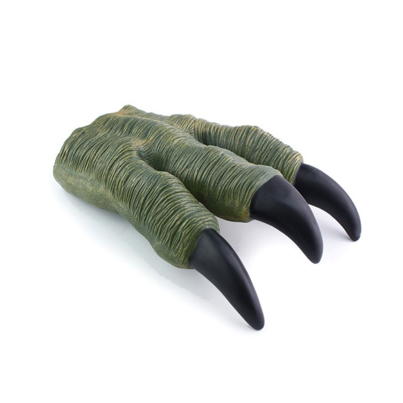 1pcs Dinosaur Claw Hands Gloves For Kids Cosplay Christmas Halloween Party Prop Supplies Trick Toy