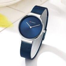 Blue Women Watches Luxury Brand Stainless Steel