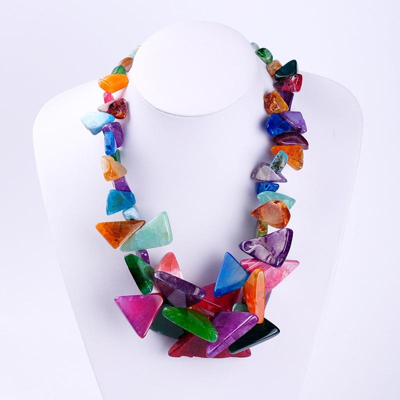 Triangle Shape Multicolor...