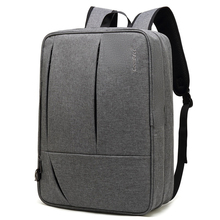 Multifunctional back pack men Top grade business laptop bags Men 17.3inch large Backpacks superior quality balck gray Nylon