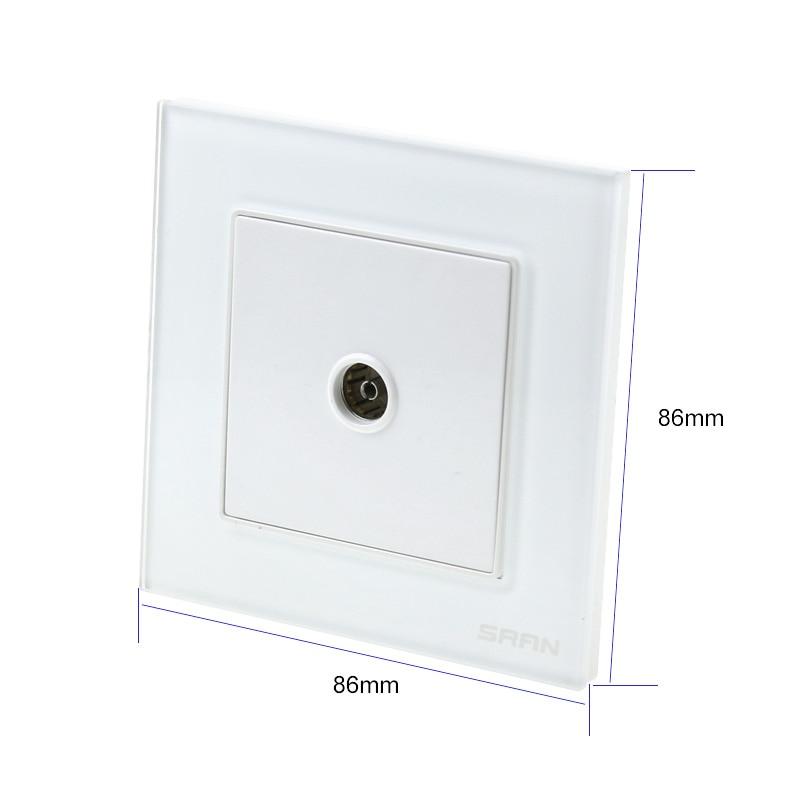 high quality wall cable tv socket hd digital wiring port. Black Bedroom Furniture Sets. Home Design Ideas