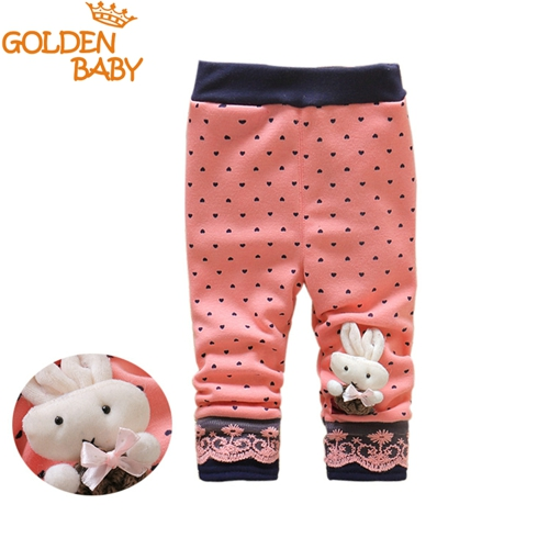 little girls cartoon leggings 0-3 years baby girls rabbit design autumn and winter thick pants baby fashion new design leggings
