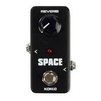 KOKKO FRB2 Mini SPACE Reverb Guitar Effect Pedal Black Portable Guitar Effects Pedal Stompbox Guitar Parts