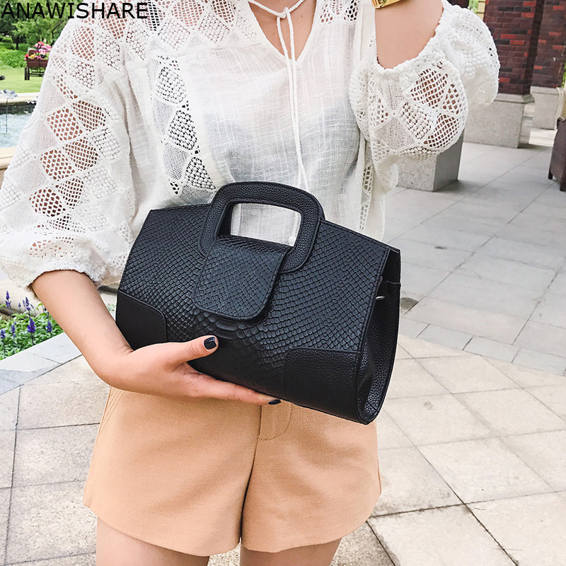 ANAWISHARE Women Handbag Serpentina Day Clutches Crossbody Bag For Women Messenger Bag Shoulder Bag Bolsa Feminina Bolsos Mujer(China)