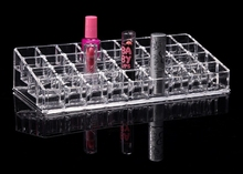 Transparent Small Frame Lipstick Makeup Organizers