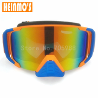 Hot Sale Motocross Goggles Dust Proof Windproof Motorcycle Helmet Goggles With Nose Protection Cross Country Glasses