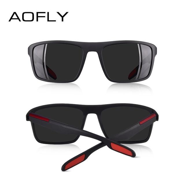 AOFLY DESIGN Ultralight TR90 Polarized Sunglasses Men Driver Shades Male Vintage Sun Glasses For Men Spuare Eyewear Gafas De Sol 4