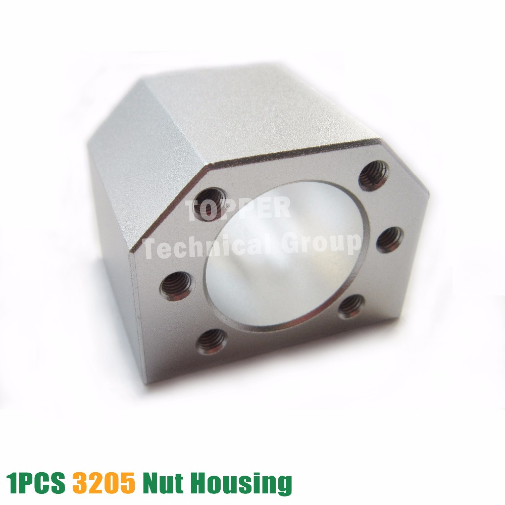 1pcs DSG32H SFU3205 SFU3210 ballscrew nut housing for 3205 3210 32mm ball screw nut housing bracket holder CNC parts