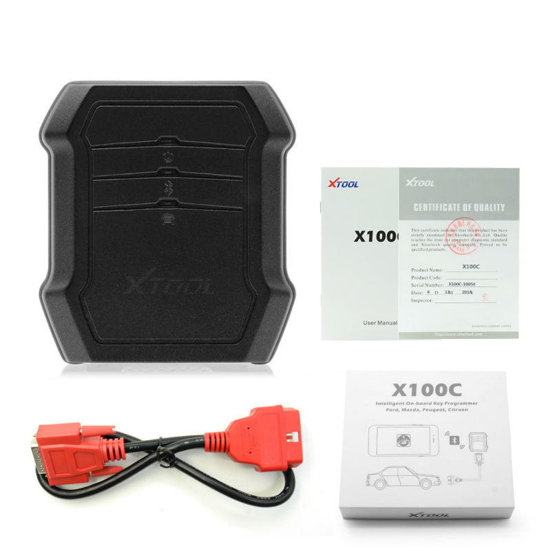 Original XTOOL X100C Auto Key Programmer Function Greater than F102 F108 X100 C for iOS and Android FREE Shipping