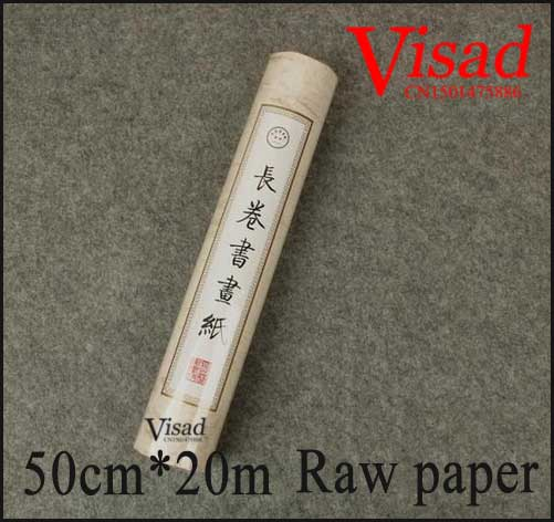 Japanese rice paper rolls watercolour paper chinese calligraphy raw paper painting calligraphy paper blank scroll 50cm