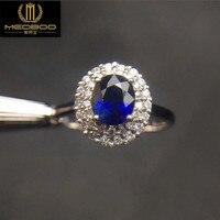 במפעל סיטונאי סגנון החדש חן טבעת נישואים תכשיטי אופנה טבעת טבעת 18 K טבעת ספיר טבעי זהב עם יהלומים