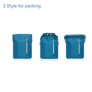 Image 5 - Youpin 90FUN Lightweight Backpack Foldable Bag Water Resistant Daypack for Man & Woman, 20L, Blue/Black H30