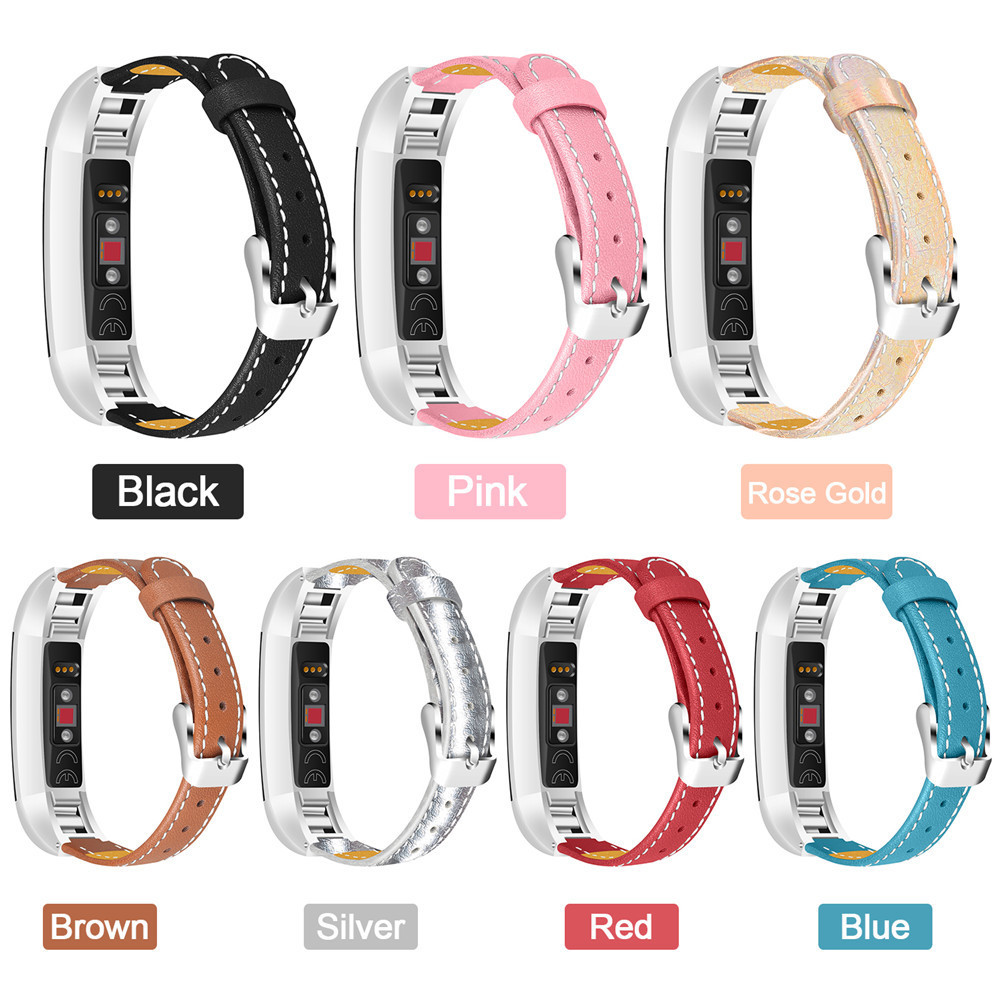 Smart Bracelet Genuine Leather Replace Watch Band For Fitbit Alta Bracelet Watch Strap for Fitbit Alta Heart Rate Monitoring