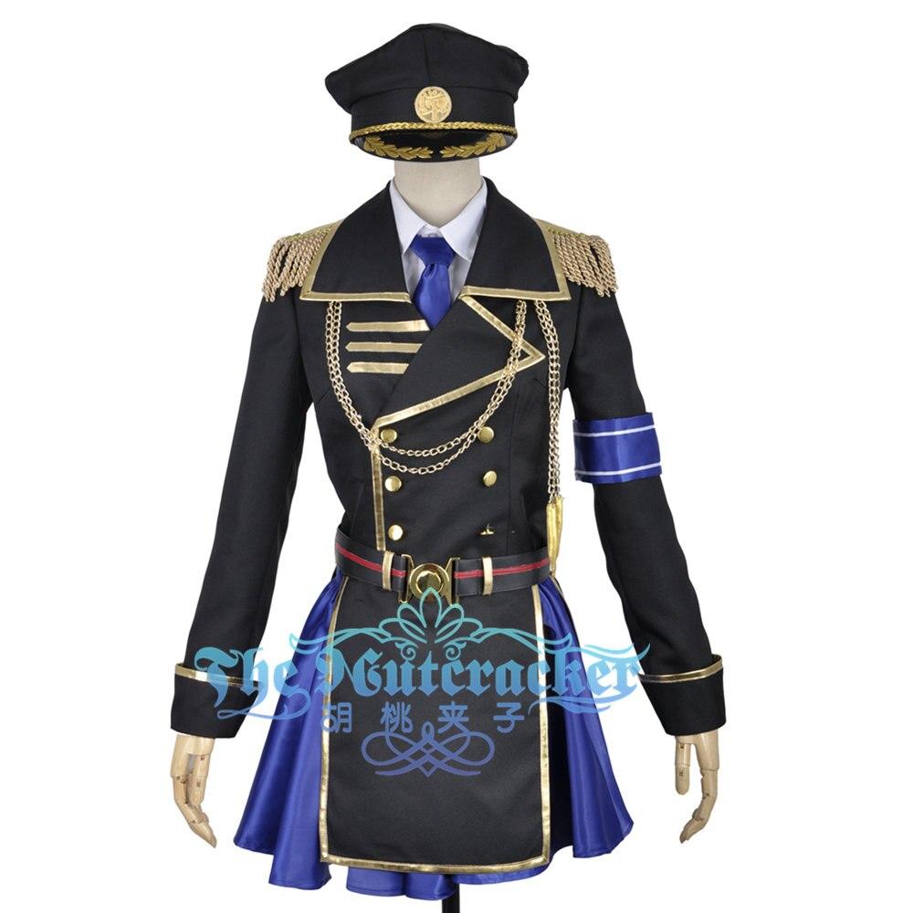 K Anime Return Of Kings Seri Awashima For Adult Cosplay Costume Military Uniform Adult Halloween Carnival Christmas