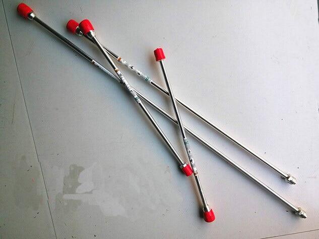 Professzionális, magasnyomású, légmentes permetező alkatrészek, 50 cm-es hosszabbító pólus, alkalmas a Gmax Wager Titan permetezőgéphez