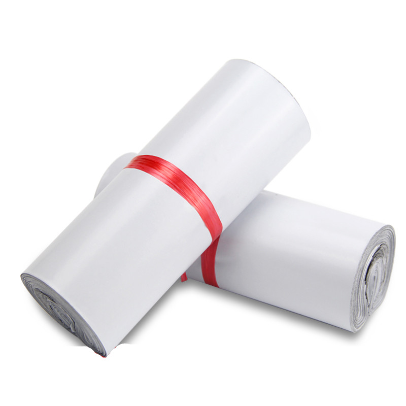 Bags Envelope-Mailer Adhesive Plastic 100pc/Lot Courier Self-Seal Poly White